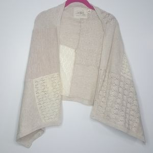 M L Angel of the North Sweater Cardigan Shrug D